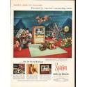 "1953 Sparton Television Ad ""Cosmic Eye Television"""