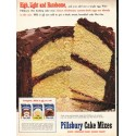 "1953 Pillsbury Cake Mix Ad ""Light and Handsome"""