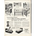 "1953 Pacific Contour Sheets Ad ""millions of mothers"""