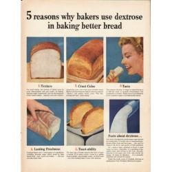 "1953 Corn Products Refining Company Ad ""5 reasons"""