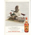 """1953 Old Grand-Dad Whiskey Ad """"Now you pay less"""""""