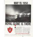 "1961 Royal-Globe Insurance Companies Ad ""May 19, 1950"""