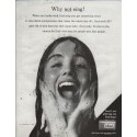 """1961 Dial Soap Ad """"Why not sing!"""""""