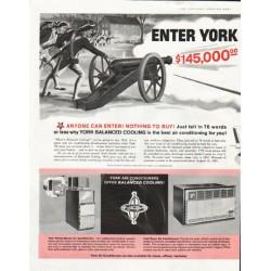 "1961 York Air Conditioning Ad ""Spirit of '76"""