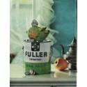 """1961 Fuller Interior Wall Paint Ad """"piggy bank fuller"""""""
