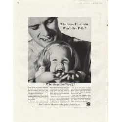 "1961 Advertising Council Ad ""This Baby"""