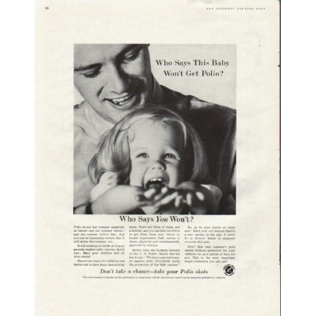"""1961 Advertising Council Ad """"This Baby"""""""