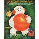 "1961 Snoboy Oranges Ad ""Summer Oranges"""