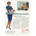 """1961 Pitney-Bowes Postage Meters Ad """"What I wouldn't wish"""""""