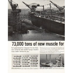 "1961 Tidewater Oil Company Ad ""J. Paul Getty"""