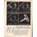 "1962 General Motors Steering Wheel Ad ""Adjust it to your arm length"""