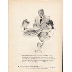 "1962 Massachusetts Mutual Life Insurance Company Ad ""At certain times"""