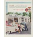 """1958 Gulf Motor Oil Ad """"Gulfpride Select"""""""