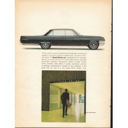 "1963 Buick Electra 225 Ad ""Today's man of action"" ~ (model year 1963)"