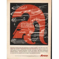 "1962 Avco Corporation Ad ""Centuries of history"""