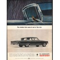 """1963 Mercury Monterey Ad """"came in out of the rain"""" ~ (model year 1963)"""