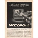 "1962 Motorola TV Ad ""Pamper yourself"""