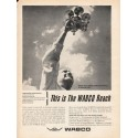 "1962 Westinghouse Air Brake Company Ad ""WABCO Reach"""