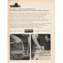 """1962 Bostitch Staplers and Staples Ad """"the fastening facts"""""""