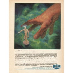 "1962 Union Carbide Ad ""new hope in life"""