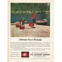 "1962 The Southern Company Ad ""Picnic in Mississippi"""