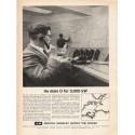 "1962 Bristol Siddeley Ad ""He dials O"""