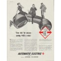 """1958 Automatic Electric Ad """"Free ride"""""""