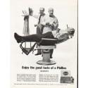 "1962 Phillies Cigars Ad ""the good taste of Phillies"""