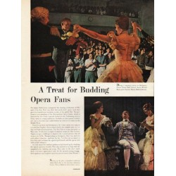 1962 Opera Fans Article ~ A Treat for Budding Opera Fans