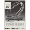 "1958 Perfect Circle Piston Rings Ad ""Since 1903 ..."""