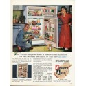 """1962 Western Auto Refrigerator-Freezer Ad """"Wizard"""""""