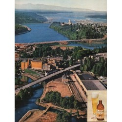 "1962 Olympia Beer Ad ""why Tumwater"""