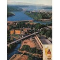 """1962 Olympia Beer Ad """"why Tumwater"""""""