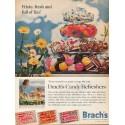 "1962 Brach's Candy Refreshers Ad ""Frisky, fresh"""