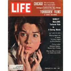 1962 LIFE Magazine Cover Page ~ February 23, 1962