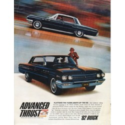 "1962 Buick LeSabre Ad ""Advanced Thrust"" ~ (model year 1962)"