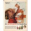 """1962 Canada Dry True-Fruit Orange Ad """"face is America"""""""