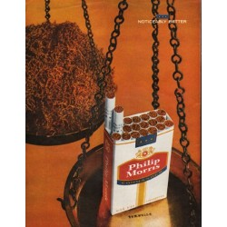 "1962 Philip Morris Cigarettes Ad ""takes an extra step"""