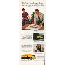 "1962 Mayflower Movers Ad ""the man, the van"""