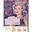 "1962 Scotties Tissues Ad ""Magic Oval Scotties"""