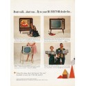 "1962 RCA Victor Television Ad ""Don't walk"""