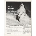 "1962 U.S. Army Ad ""What's it worth"""