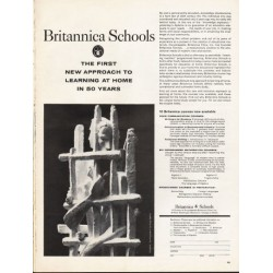 "1962 Britannica Schools Ad ""The First New Approach"""