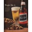 """1962 Carling Black Label Beer Ad """"People like it"""""""