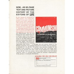 "1962 Communism Booklet Ad ""The Nature Of Your Enemy"" ~ by John K. Jessup"
