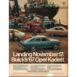 "1967 General Motors Opel Kadett Ad ""November 17"" ~ (model year 1967)"