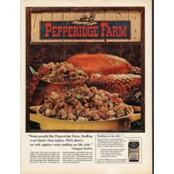 "1966 Pepperidge Farm Ad ""Stuffing even better"""