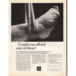 "1966 New York Life Ad ""Could you afford one of these?"""