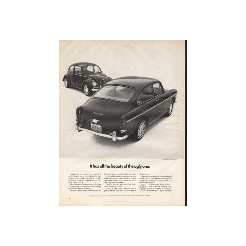 1967 Volkswagen Fastback Vintage Ad