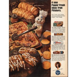 "1966 Pillsbury Ad ""Poppin' Fresh ideas"""